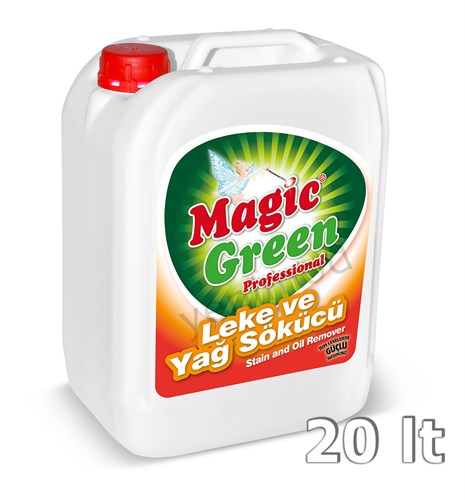 Magic Green Professional Leke ve Yağ Sökücü 20 lt