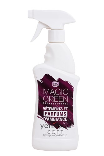 Magic Green Çamaşır ve Oda Parfümü Soft 400 ml
