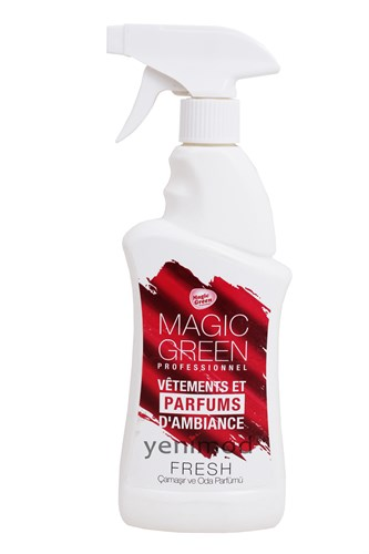 Magic Green Çamaşır ve Oda Parfümü Fresh 400 ml